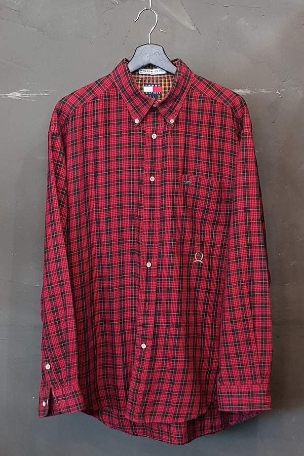 90's Tommy Hilfiger-Flannel (L)