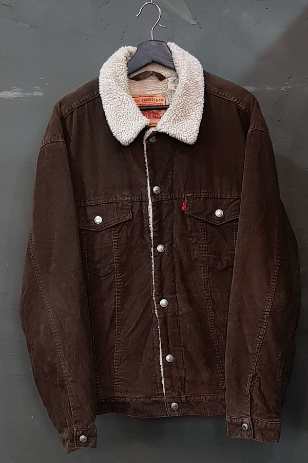 90's Levi's - Corduroy - Sherpa Lined (XL)