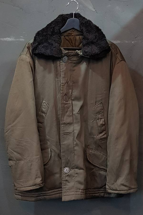 60's US Military - B-9 Parka - Quilted Lined - Talon (XL)