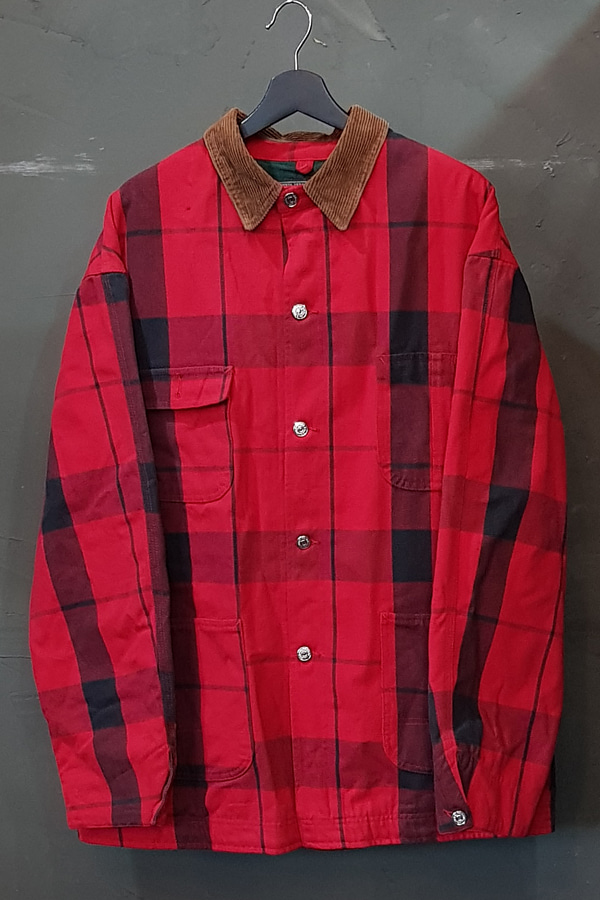 90's Polo Country Ralph Lauren - Flannel Lined - Made in U.S.A. (L)