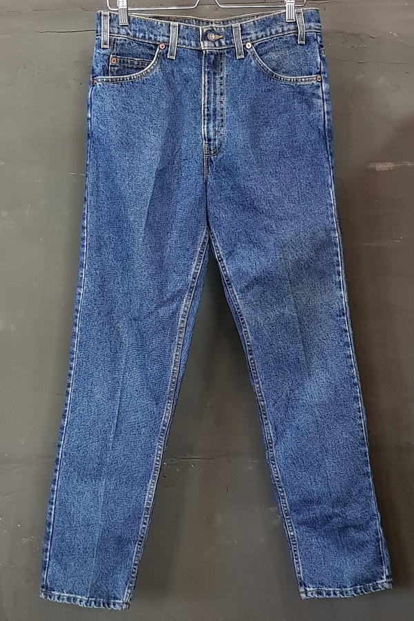 80's Levi's 505 - Orange - Made in U.S.A. (33)
