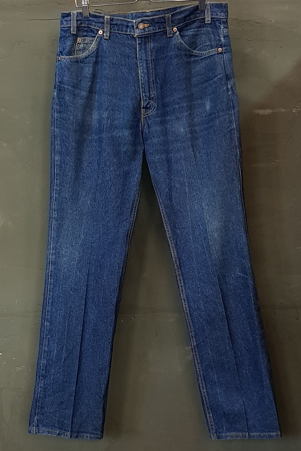 80's Levi's 517 - Orange - Made in U.S.A. (36)