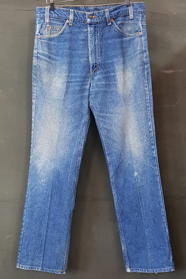 80's Levi's 517 - Orange - Made in U.S.A. (35)