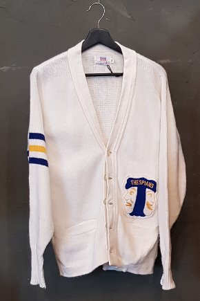 70's Letterman Sweater (M)