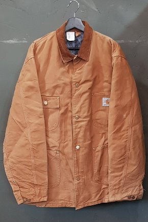 80's Carhartt - Coverall - Blanket Lined - 100th Anniversary - Made in U.S.A. (L-XL)