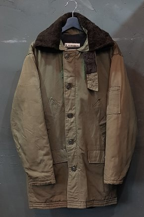 60's US Military - B-9 Parka - Quilted Lined (L)