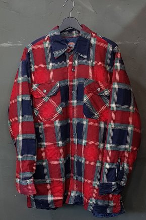 90's Dickies - Flannel - Quilted Lined (L)
