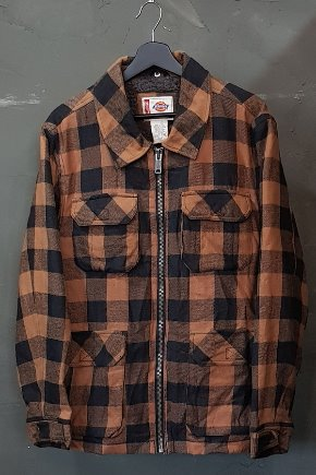 90's Dickies - Flannel - Sherpa Lined (L)