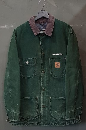 80's-90's Carhartt - Coverall - Blanket Lined - Made in U.S.A. (L)