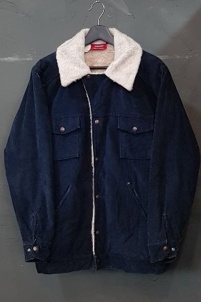 80's Dickies - Corduroy - Sherpa Lined (M-L)