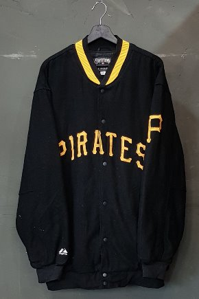 90's Majestic - Varsity - MLB - Quilted Lined - Made in U.S.A. (2XL)